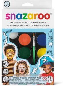 Snazaroo Face Painting Kit Kids Adults Fancy Dress Face Paint Make Up Profession
