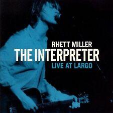 The Interpreter: Live at Largo by Rhett Miller (CD, Nov-2011, Maximum Sunshine)