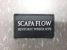 SCAPA FLOW HISTORIC WRECK SITE BADGE