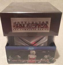 Battlestar Galactica Complete Series Blu-ray w/ Collectible Cylon 20 discs RARE