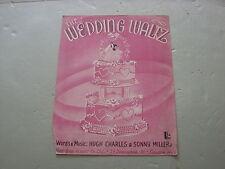 The Wedding Waltz,  Sheet Music