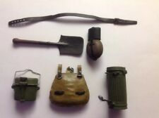 Ultimate Soldier 1/6 Scale WW2 German Accessories Canteen,Mess Kit,Shovel....