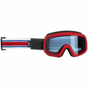 Biltwell Overland 2.0 Racer Motorcycle Goggle - R/W/B