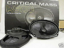 6X9 CRITICAL MASS AUDIO SPEAKERS RS69 BEST JL NR CARBON FIBER TOYOTA CAMRY DODGE