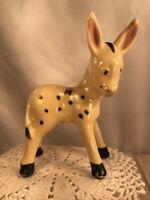 Vtg Pottery Art 40-50's Ass Donkey Burro Jack Harrisburg PA Souvenir Figurine