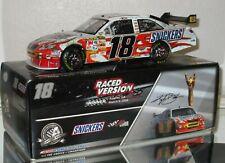 2008 Kyle Busch #18 Snickers ATLANTA RACE WIN AUTOGRAPHED 1/24 car w/Photo Proof