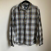 The North Face Women's Long Sleeve Half Button Up Shirt Size Small Plaid