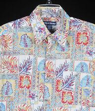 West Marine Limited Edition Mens Hawaiian Boating Shirt Sz M Cotton Aloha