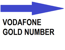 VODAFONE GOLDEN NUMBER SIM CARD...11MAR19*+18