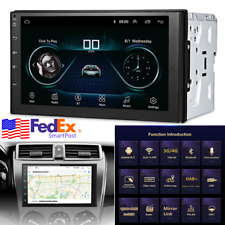 """7"""" Android 9.1 Car Stereo Radio Double 2 Din Head Unit Gps Navigation Wifi 2+32G"""