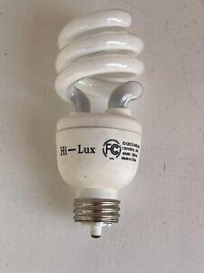 Lot of 10 LED Light Bulb  E26-20W-6500K HI-LUX Spiral NEW
