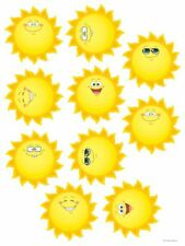 TCR 5419 Large Happy Suns Sunshine Bulletin Board Cut Out Classroom Decorations