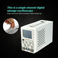 Owon As201 Oscilloscope 1 Channel 20mhz 100mss 130000 Wfmss 37 Colour Lcd