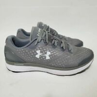 Under Armour Womens 8 Charged Bandit 4 Running Shoes Gray 3020401-100 Sneakers