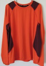 TEK GEAR Men's XL Long Sleeve Athletic Running Workout Shirt Bright Color