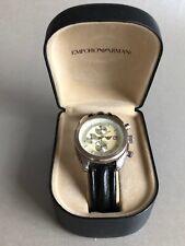 Armbanduhr EMPORIO ARMANI - AR-0500, guter Zustand, Chronograph, mit Etui