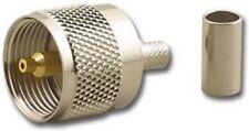 1 Piece - Ces - Uhf Male Crimp-On Coaxial Rf Connector Rg58U # 622410