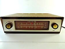 Vintage Allied Radio Corp. Knight 94 SX 702 Tube AM/FM Radio ~ Powers On AS IS