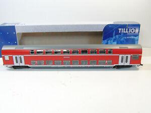 TILLIG H0 73786? Doppelstockwagen 1./2.Kl., DABz756, DC, TOP in OVP #4406