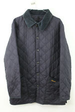 BARBOUR Navy Quilted Jacket size XS