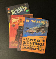 2015 Upper Deck Firefly The Verse Trading Cards Artist Proof Signed by Artist