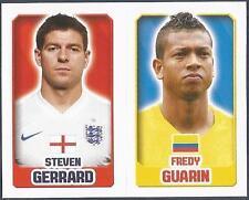 TOPPS ENGLAND 2014- #131-174-COLOMBIA-FREDY GUARIN-ENGLAND-STEVEN GERRARD