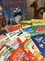 Childrens/Kids Random CHRISTMAS ~ Paperback Assorted Books Lot of  20