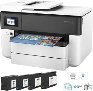 HP OfficeJet Pro 7730 Wireless All-in-One A3 Business Inkjet Printer, 953XL Inks