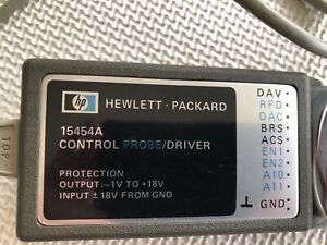Agilent HP Keysight 15454A Control Probe Driver