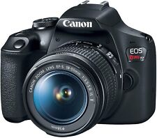 Canon EOS 2000D Rebel T7 24.2MP DSLR Camera with Canon 18-55mm Lens (IMAGE INCL)