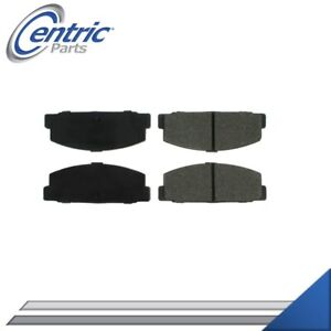 REAR SEMI-METALLIC BRAKE PADS LEFT & RIGHT SET FOR 1984-1986 PLYMOUTH CONQUEST