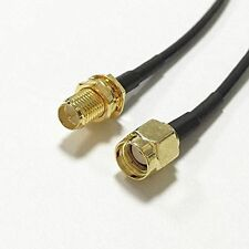 WIFI extension cable RP SMA female to RP SMA male pigtail cable RG174 20cm 8inc