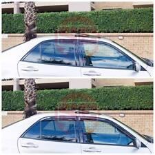 Lexus IS200 IS300 98-05 XE10 Slimline Window Visors / Weathershields Set (4PCS)