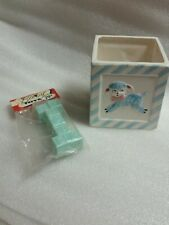 New listing Tinkle Toy Rattle Napco Ware Ceramic Planter Baby Gift