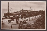 Postcard Hull Yorkshire animated view of Victoria Pier early RP