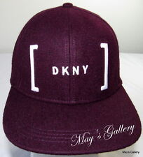 DKNY Donna Karan  New York BaseBall Cap Ball Hat Military NWT  One Size wool