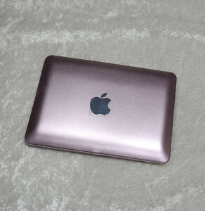 """18"""" doll American Girl 1/3 macbook computer laptop notebook prop toy Pink flaws"""