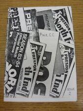 1985/1986 Preston North End: Club De Coleccionistas Revista número 2. si el artículo ha