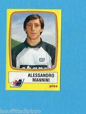 PANINI CALCIATORI 1985/86 -FIGURINA n.187- MANNINI - PISA -Rec
