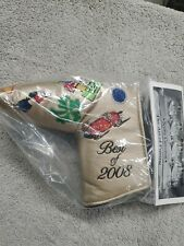 Scotty Cameron Best Of 2008 Putter Headcover New In Bag!