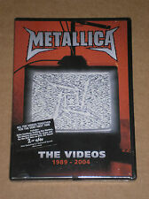 METALLICA - THE VIDEOS 1989-2004 - DVD SIGILLATO (SEALED)