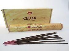 CEDAR  von HEM  BIG PACK 6 x 20  Räucherstäbchen Original Indien Incense