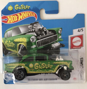 2021 HOT WHEELS #121 - '55 Chevy Bel Air Gasser (Green Guster - Case E) New