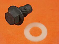 GM Oil Pan Drain Plug 49 Up Nylon Gasket 1/2-20 #824