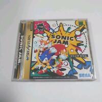 Sega Saturn Sonic Jam SS Sega Enter Prize Japan Import Game 1997