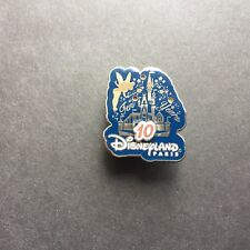 WDW 10th Anniversary Celebration for Disneyland Paris Disney Pin 11112