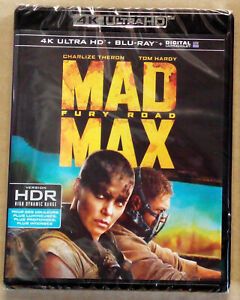 COFFRET 2 DISQUES - MAD MAX FURY ROAD 4K ULTRA HD + BLU RAY