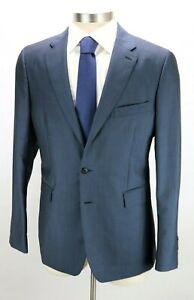 NWT $1990 BURBERRY LONDON Wool Mohair Suit 44 R (54 EU) Soho 60 Petrol Blue