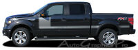 2009-2013 FORCE ONE Hockey Side Vinyl Graphics Kit Decals Stripes for Ford F-150