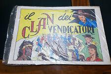 GALEP ( prima di TEX ) il Clan dei Vendicatori + il Premio del Perdono *Ottimo*